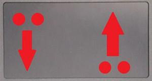 2-Finger-Wischen zum Scrollen (Bildlauf)