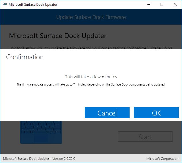 Update Microsoft Surface Pro 4 Dock
