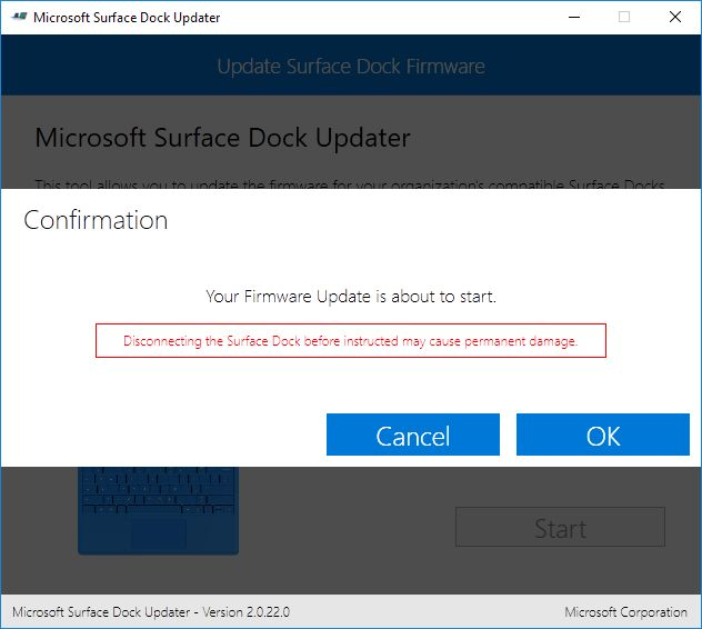 Microsoft Surface Pro 4 Dock Update