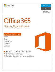 Microsoft Office 365 für Microsoft Surface Pro 4