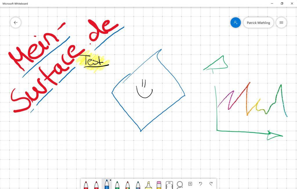 Microsoft Surface Whiteboard