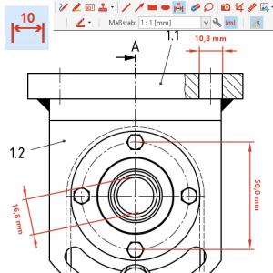 PDF Annotator 8 Maßstäbe